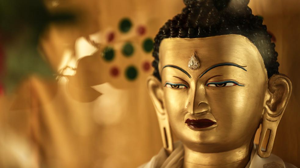 Buddhismus a Dharamsala