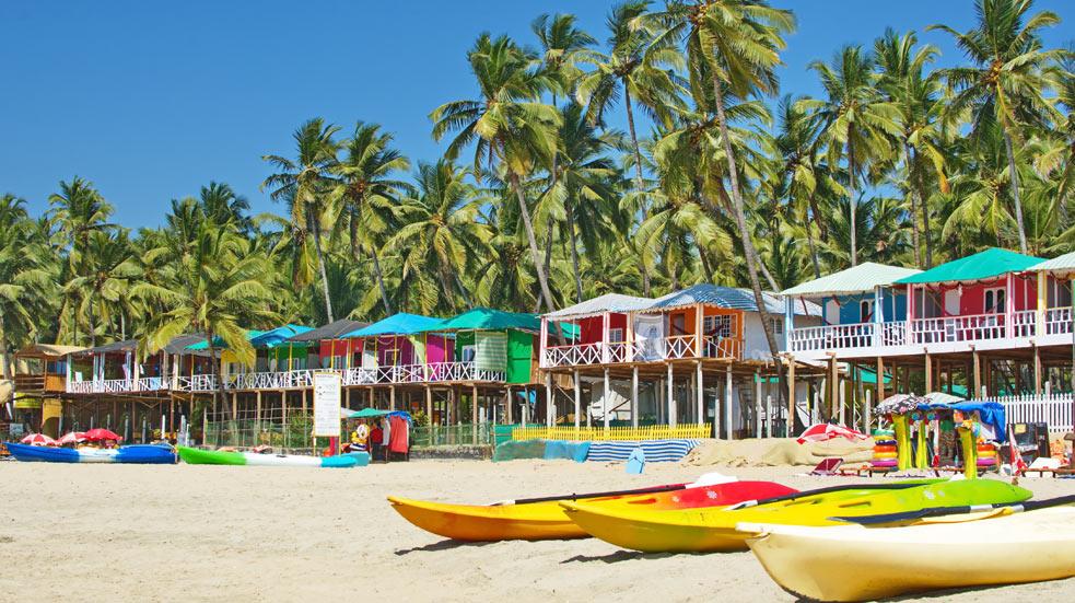 Goa - pláže Indie
