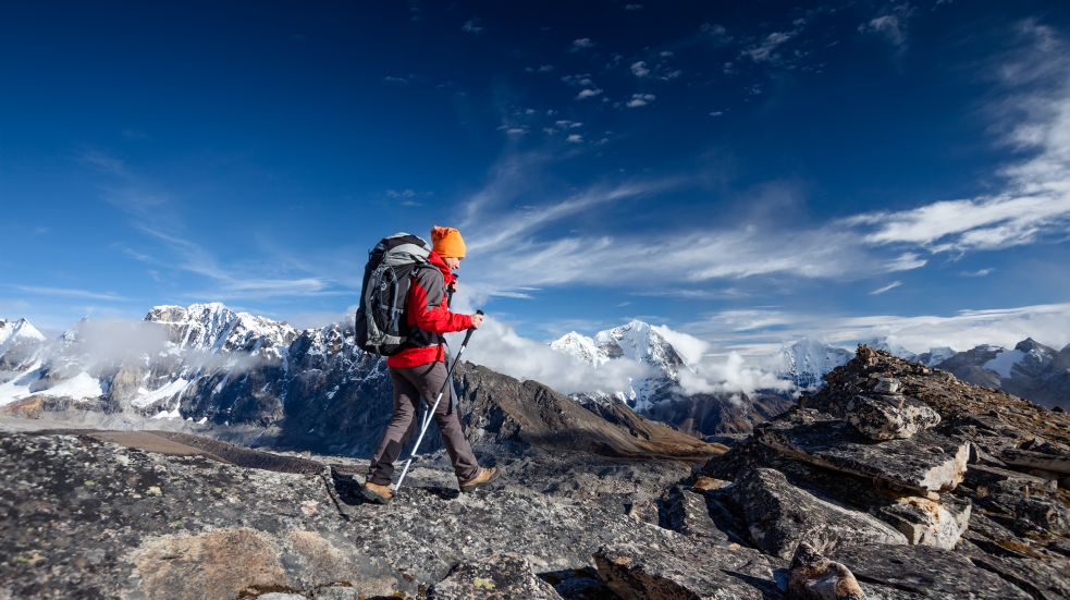 Trek v okolí Kanchenjungy