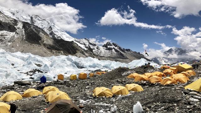Trek do základního tábora Everestu
