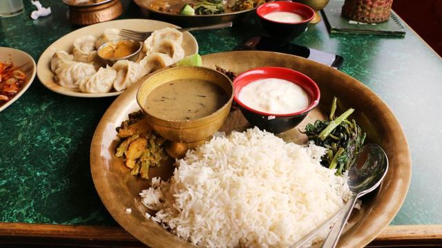 Jídlo v Nepálu
