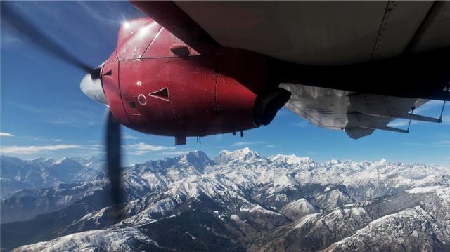 Vyhlídkové lety k Everestu