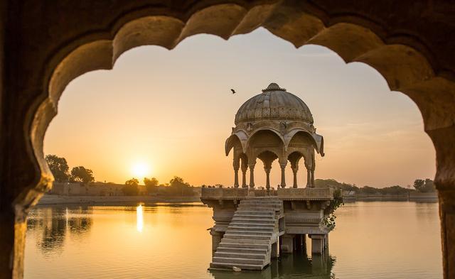 Královská Indie a houseboat a pláže Keraly