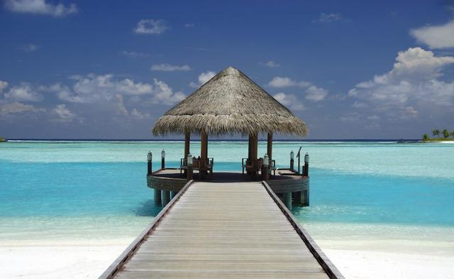 Bělostné pláže exotických Malediv