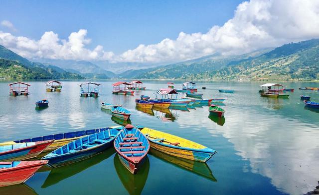 Jezerní město Pokhara