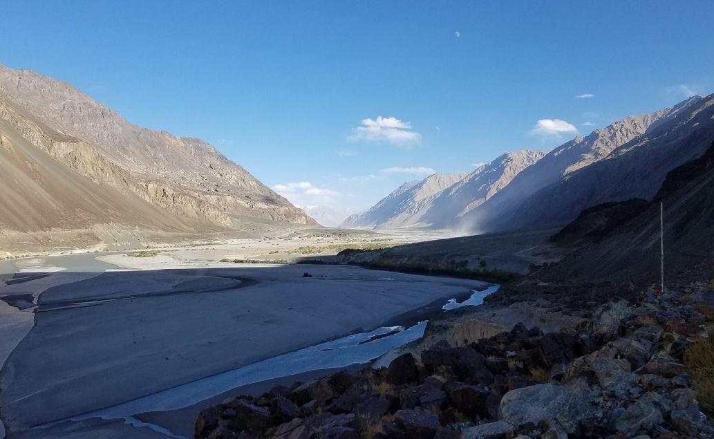 Krajina v okolí Ladaku