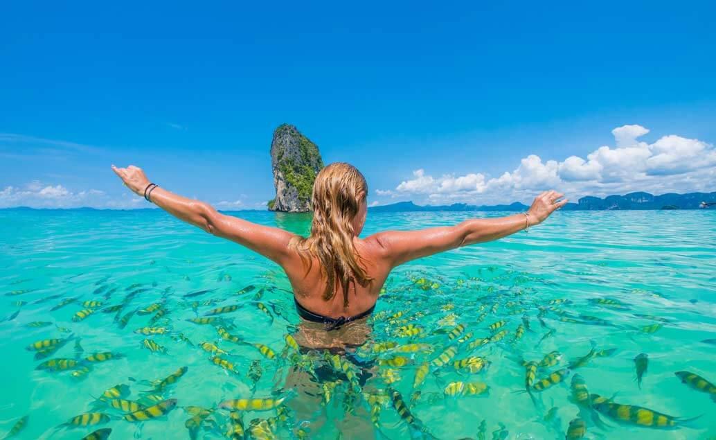 Kombinace Indie a Thajsko - pláže ostrova Krabi