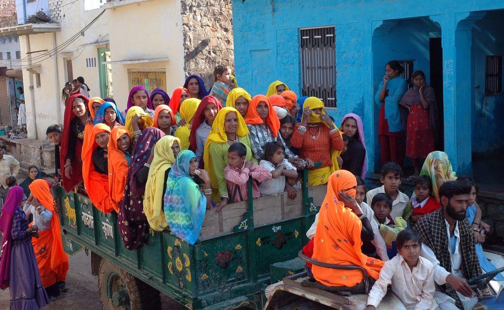 Ulice města Agra