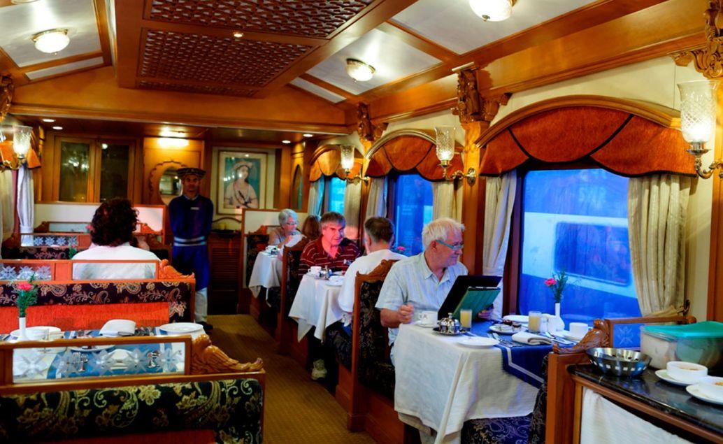 Luxusní vlak - Maharaja's Express