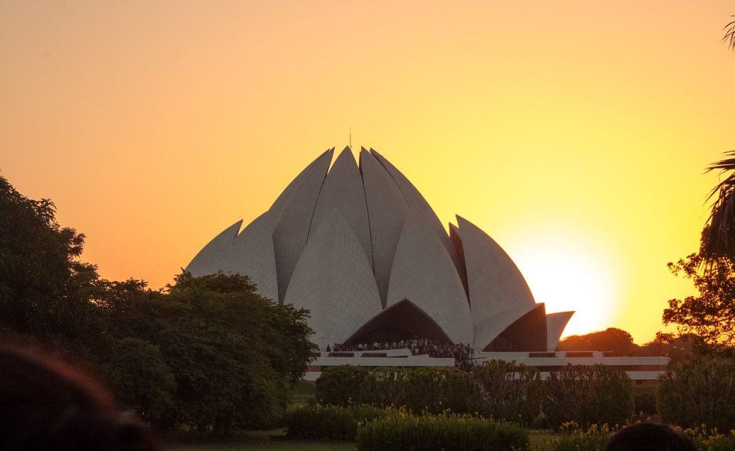 Lotusový chrám v Dillí