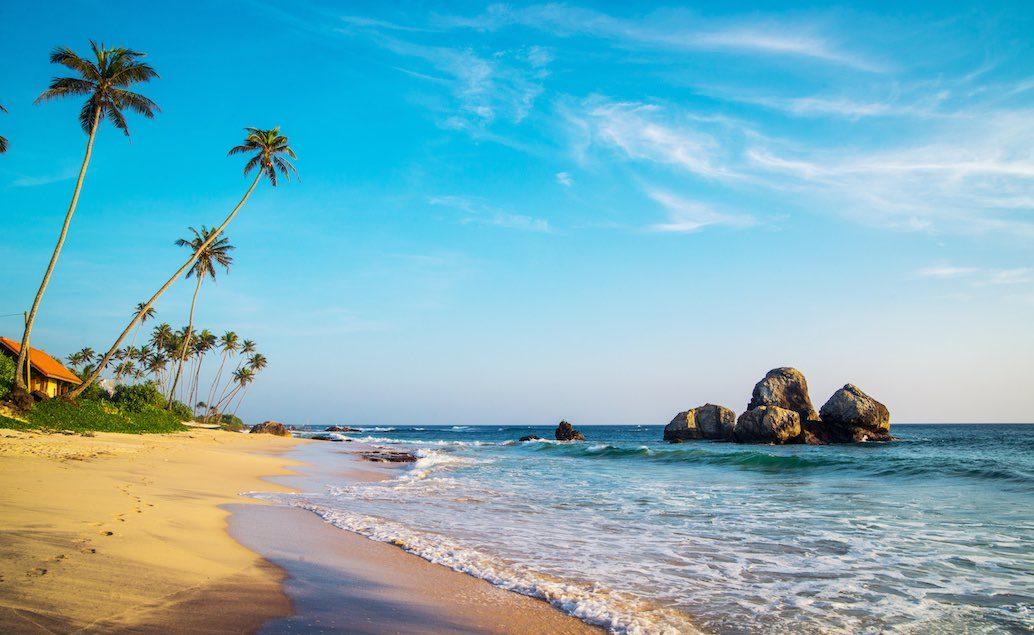 odpočinek na exotických plážích Srí Lanky
