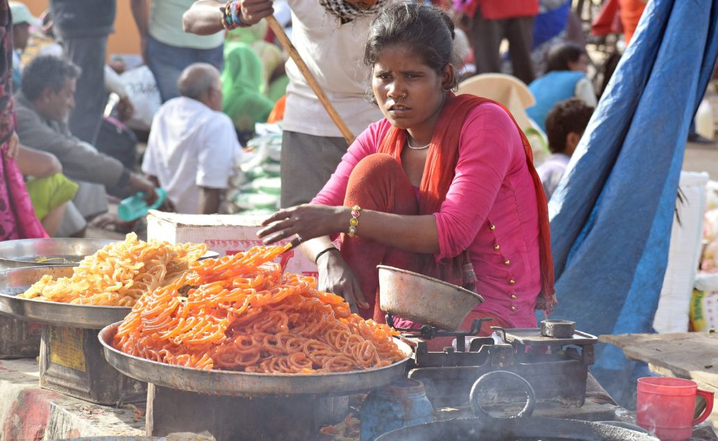Ulice v Agra