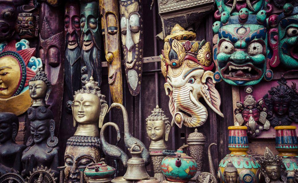 Tradiční nepalské produkty