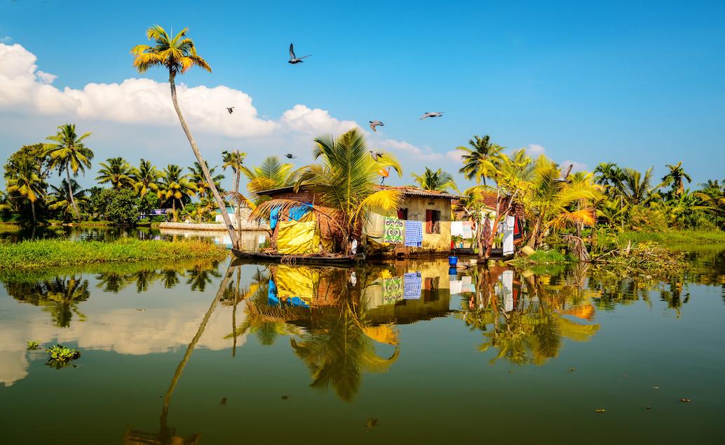 Kerala a houseboat