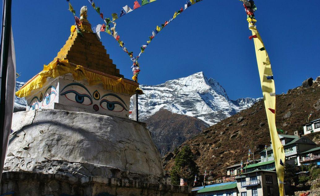 Buddhistická stupa