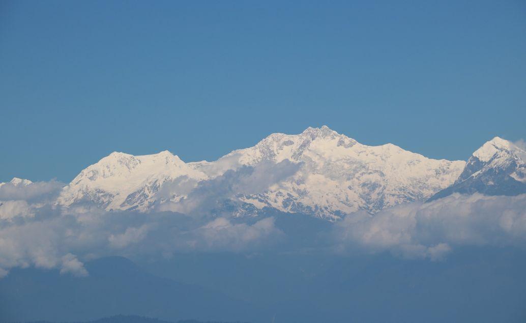 Výhledy na třetí nejvyšší horu světa Kanchenjunga