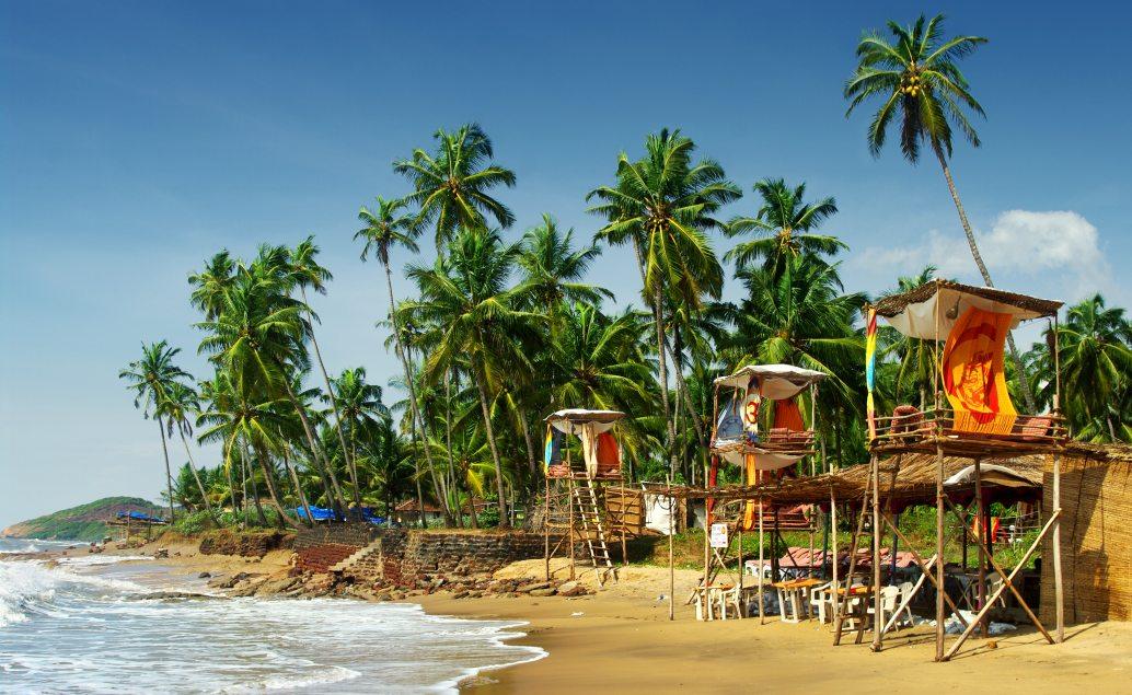 Pláže v Goa