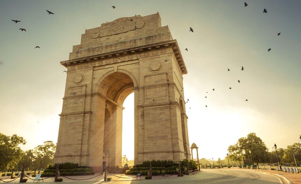 Monumentální brána v Dillí