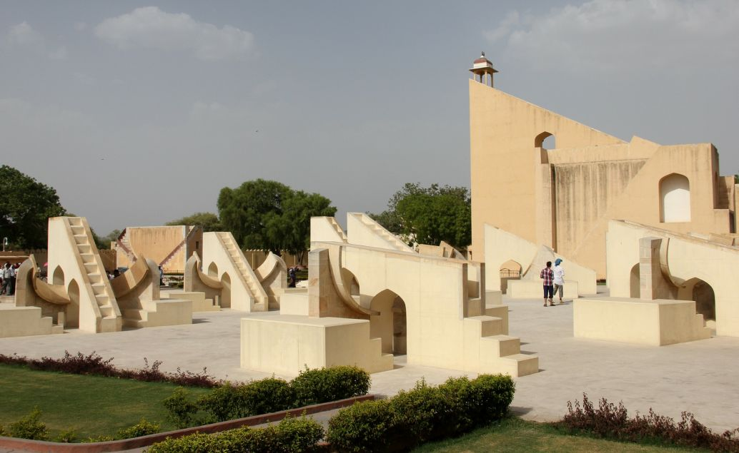 Starobylá observatoř v Jantar Mantar