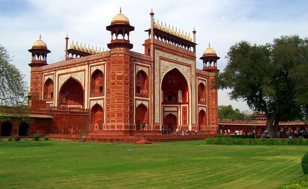 Vstupní brána k Taj Mahalu