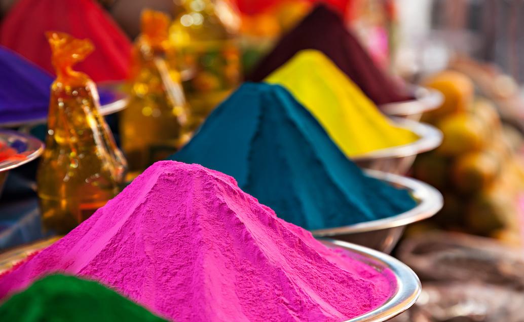 Trhy v městě Jaipur