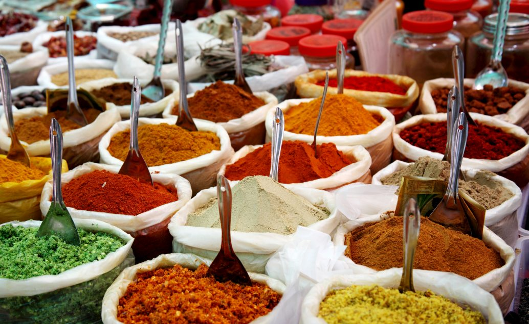 Trhy s kořením