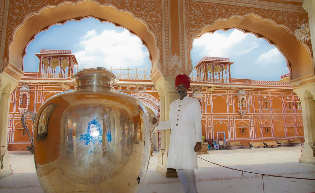 Růžové město Jaipur