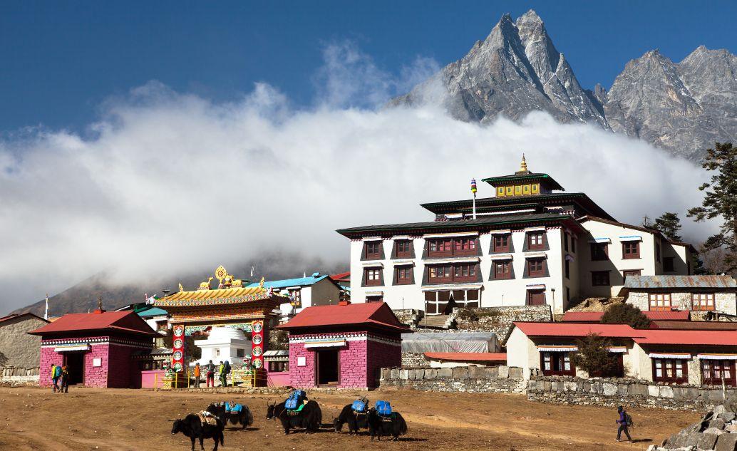 Nejstarší klášter v Kumjung