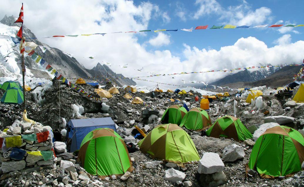 Základní tábor Mount Everestu