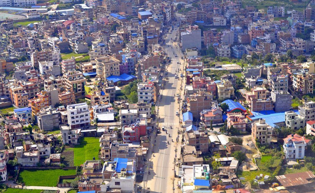 Hlavní město Káthmándú
