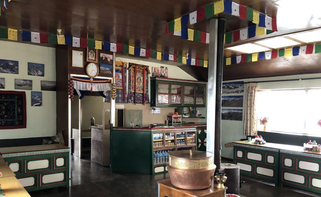 Čajovna u Namche Bazaar