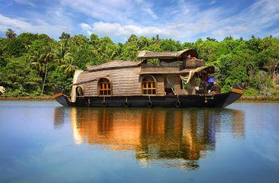 To nejlepší z Indie a houseboat a pláže Keraly s průvodcem