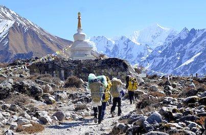 Trek údolím Langtang